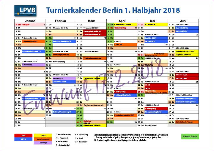 Turnierkal Berlin 2018 1
